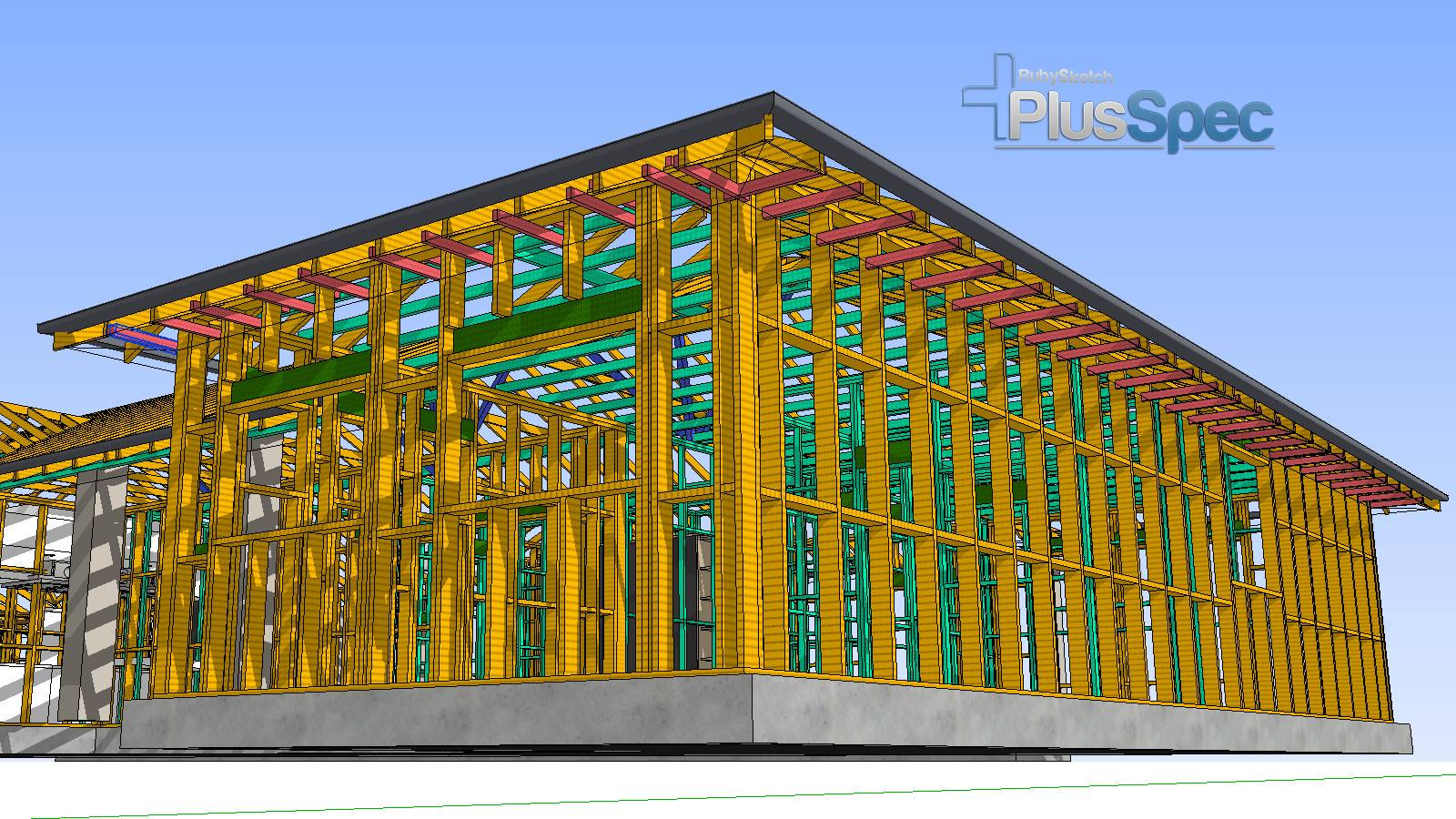 PlusSpec design building structure