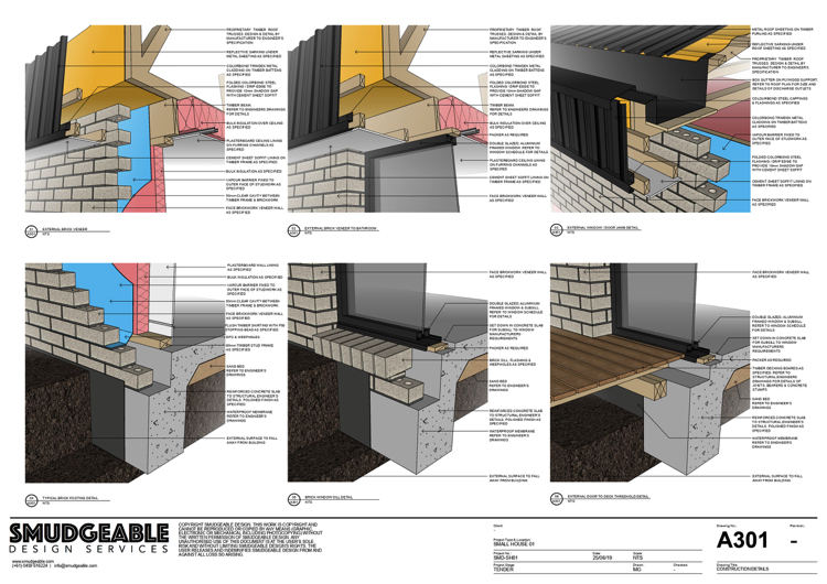 LayOut allows to create fully documented drawings that are ready for construction.
